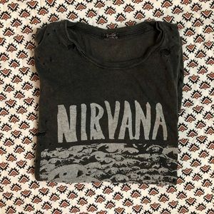 Brandy Melville Nirvana Shirt
